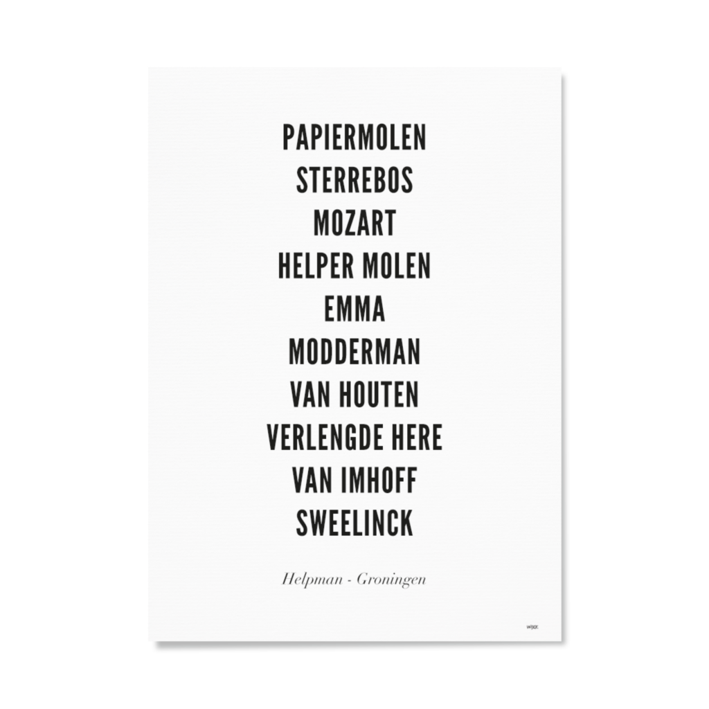 PAPIER STAAND_HELPMAN