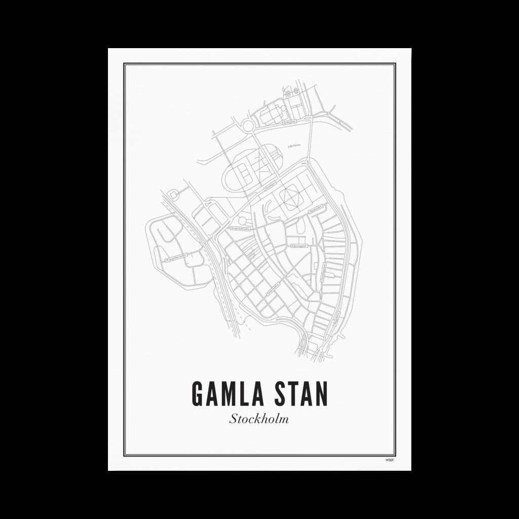 Gamla Stan_print papier