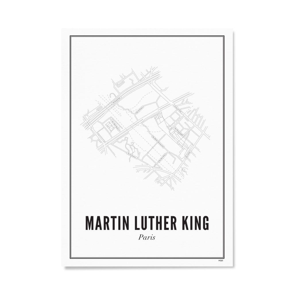 PARIS_Martin_luther_king_papier