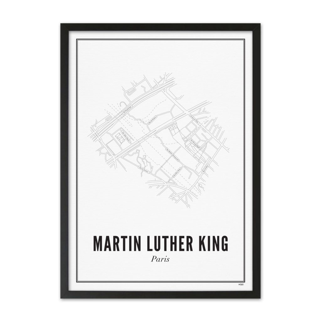 PARIS_Martin_luther_king_ZwarteLijst