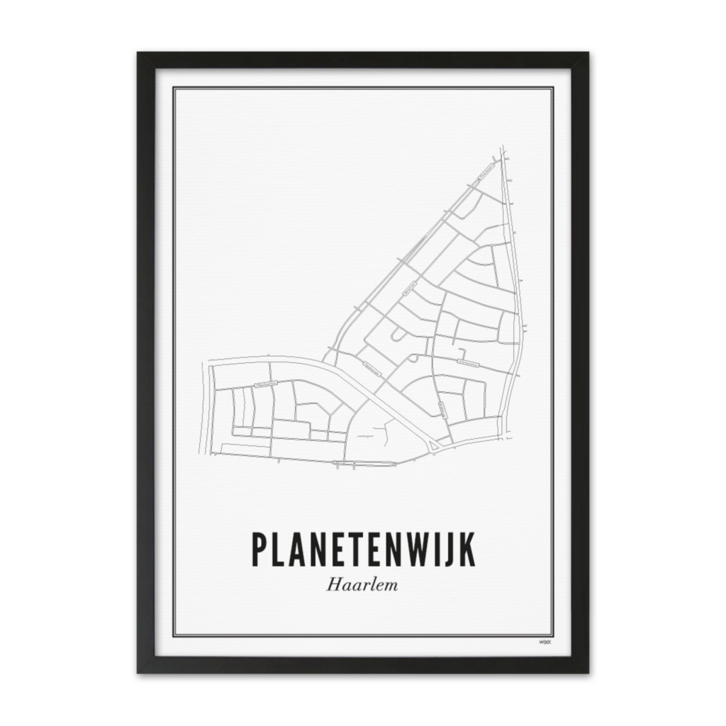 Planetenwijk_Lijst