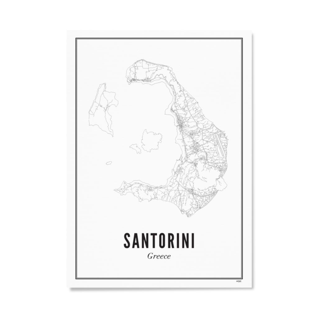 Santorini_Papier