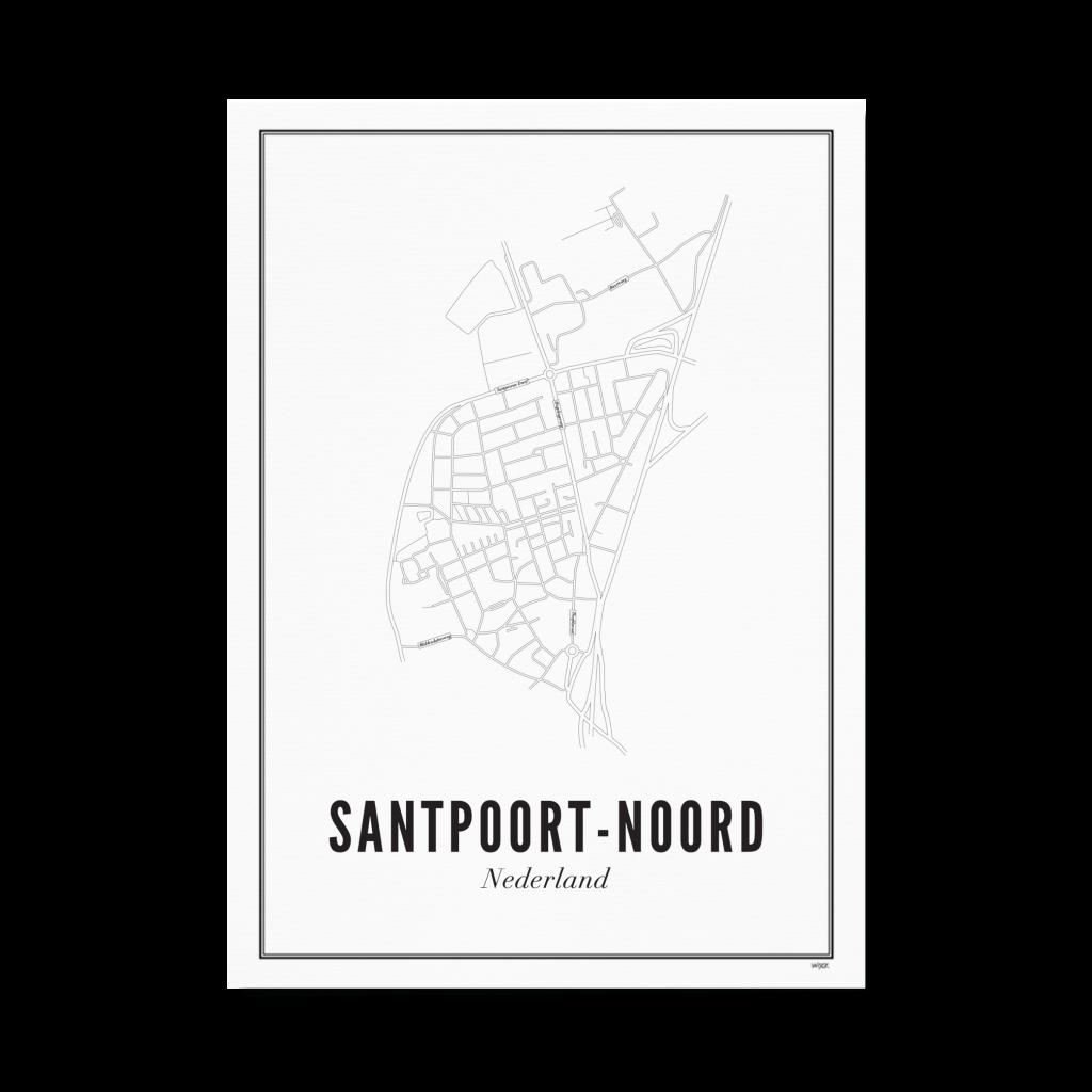 Santpoort Noord Wit Papier