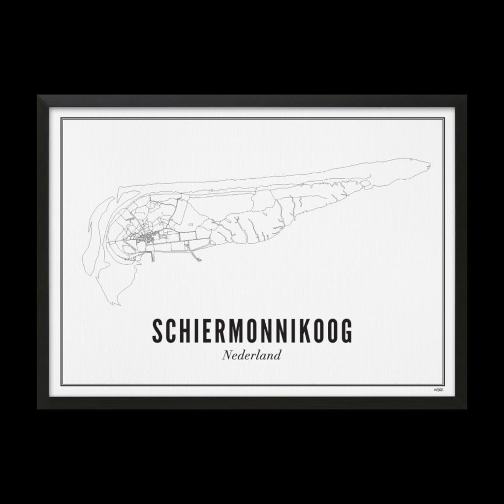 Schiermonnikoog_Zwart