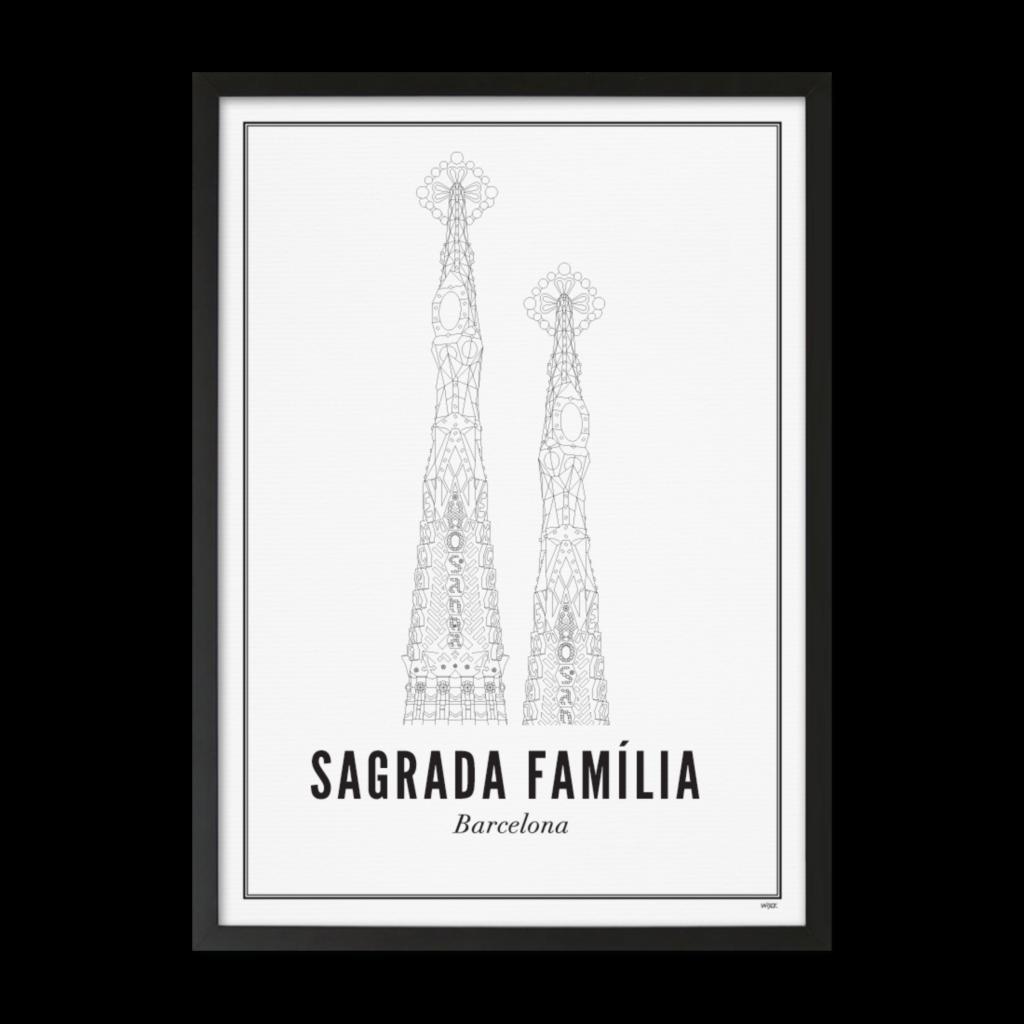 SEGRADA FAMILIA_ZWART