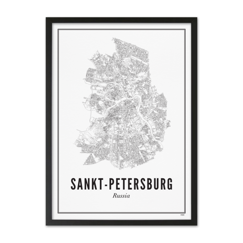 Sint-Petersburg_Zwart