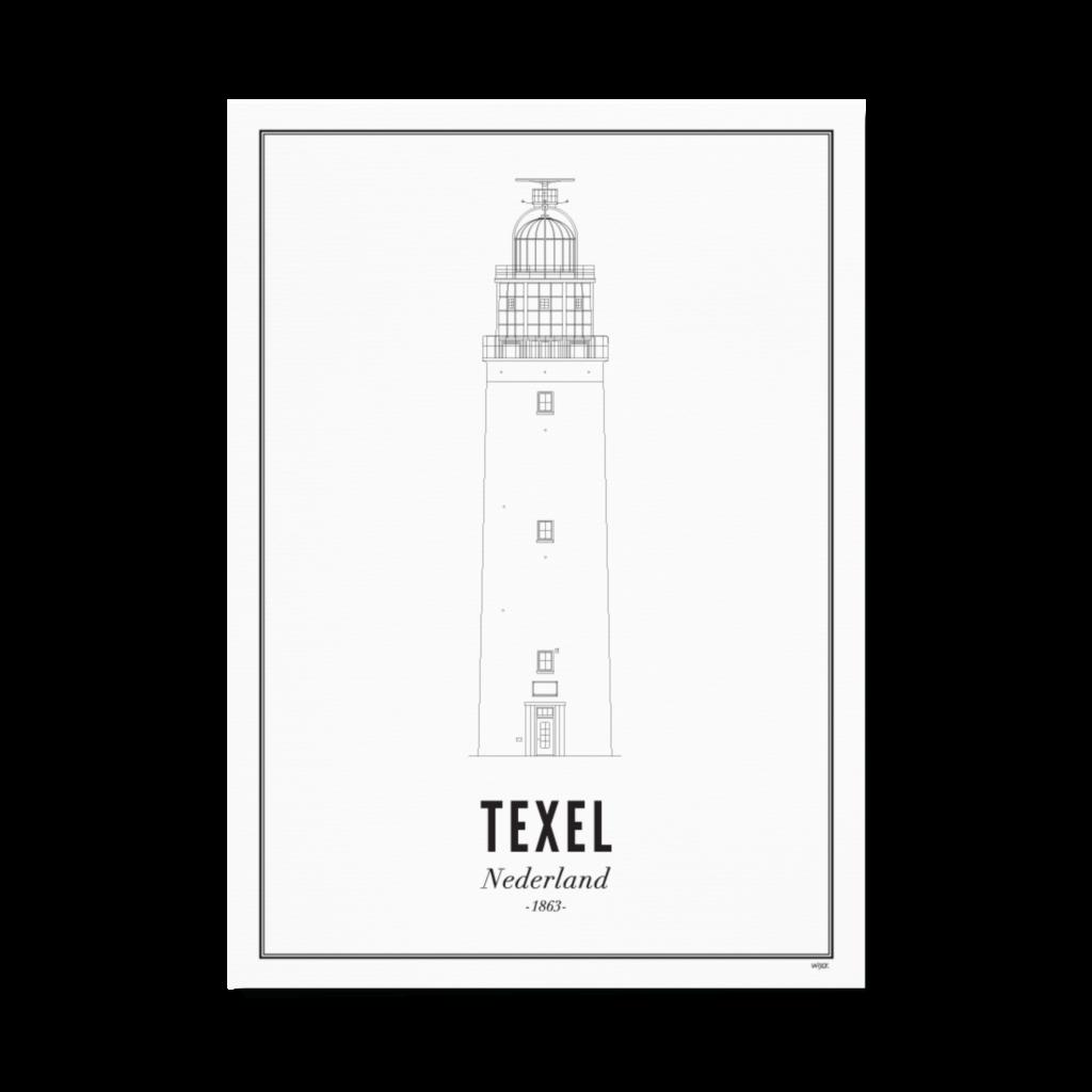 Texel_vuurtoren_papier