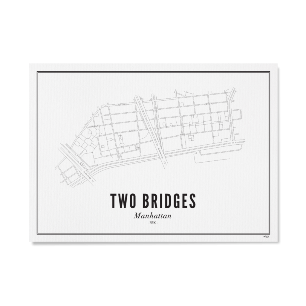 Two Bridges_Papier