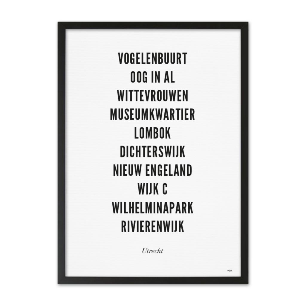 Utrecht_Typo_Stad_zwartelijst