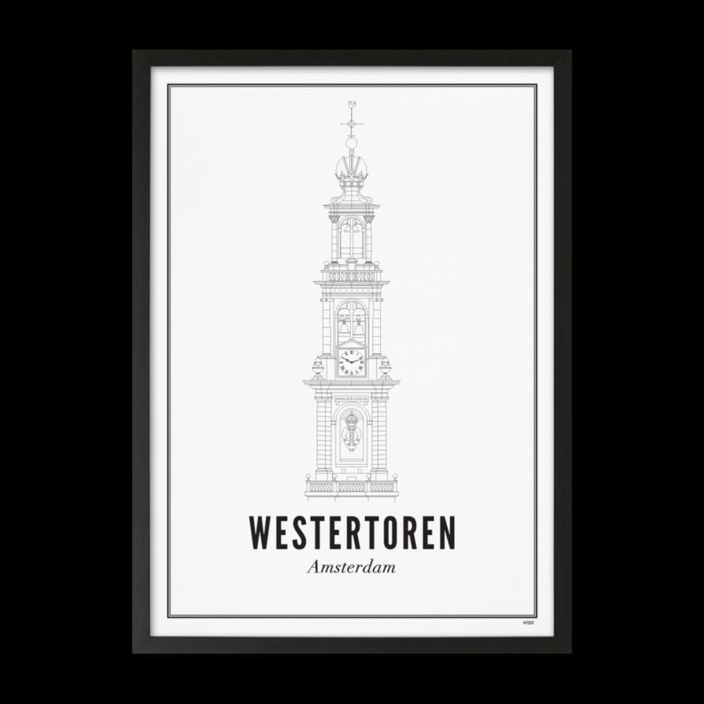 Westertoren_zwart