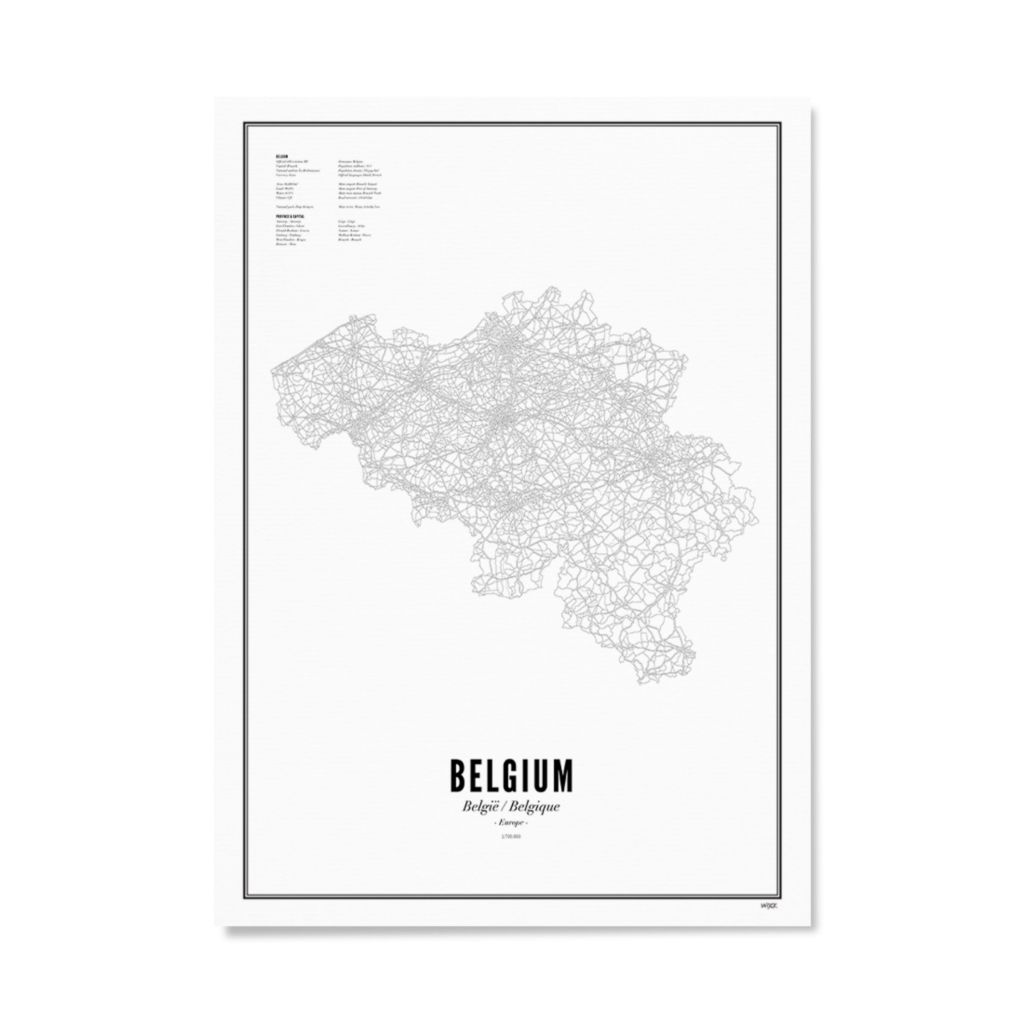 WIJCK_Country_Belgium_Papier